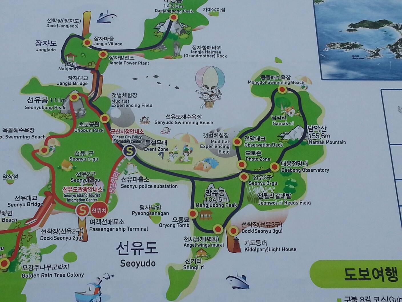 Map of Seonyudo