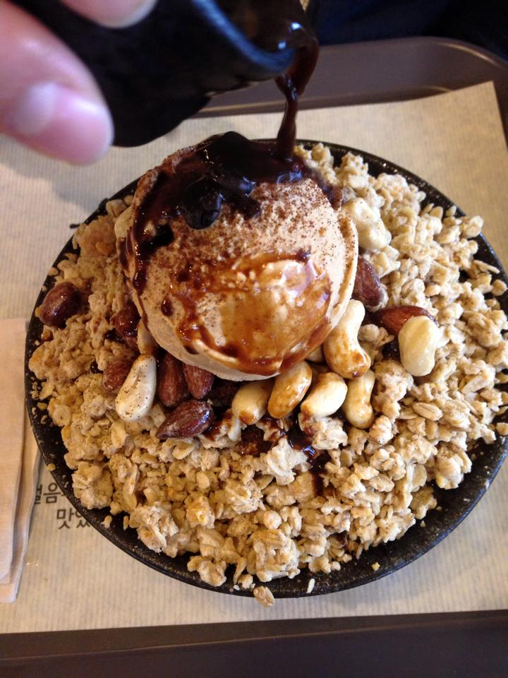 Caramel Coffee Bingsu