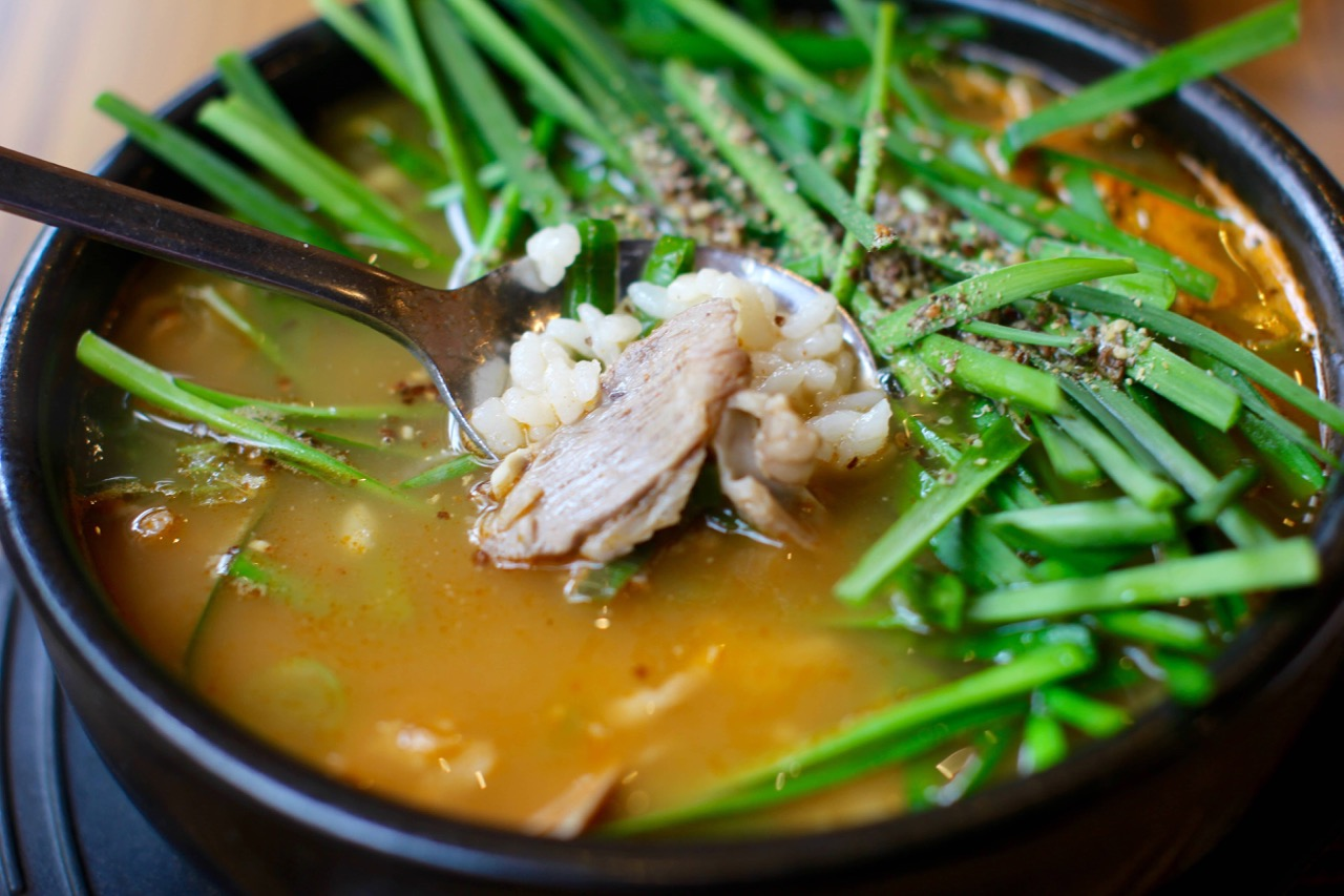 Dwaeji Gukbap: Delicious Korean Pork Soup