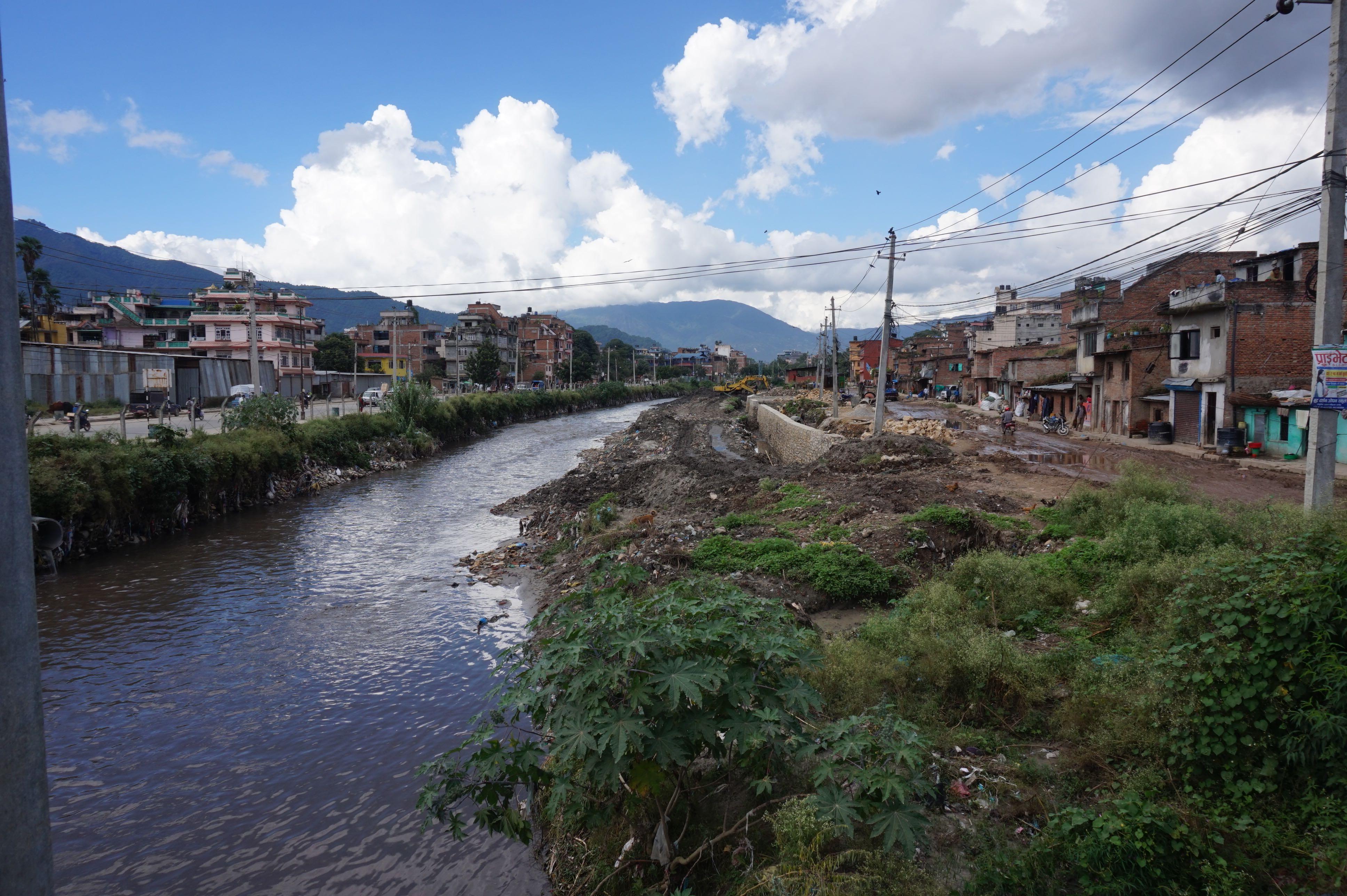 River in Kathmandu