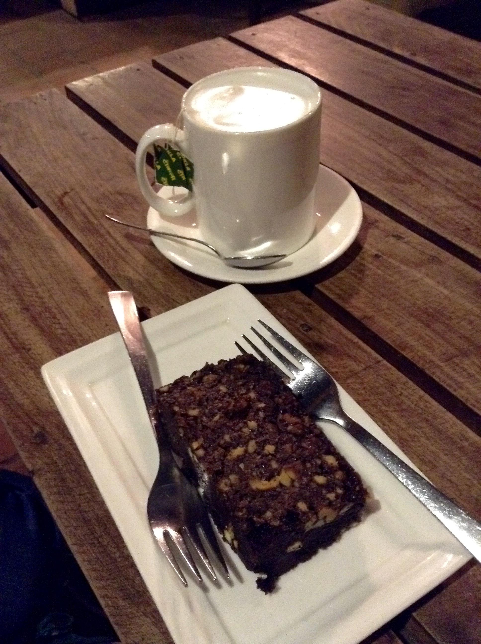 Himalayan Java Brownie and Nepali Tea