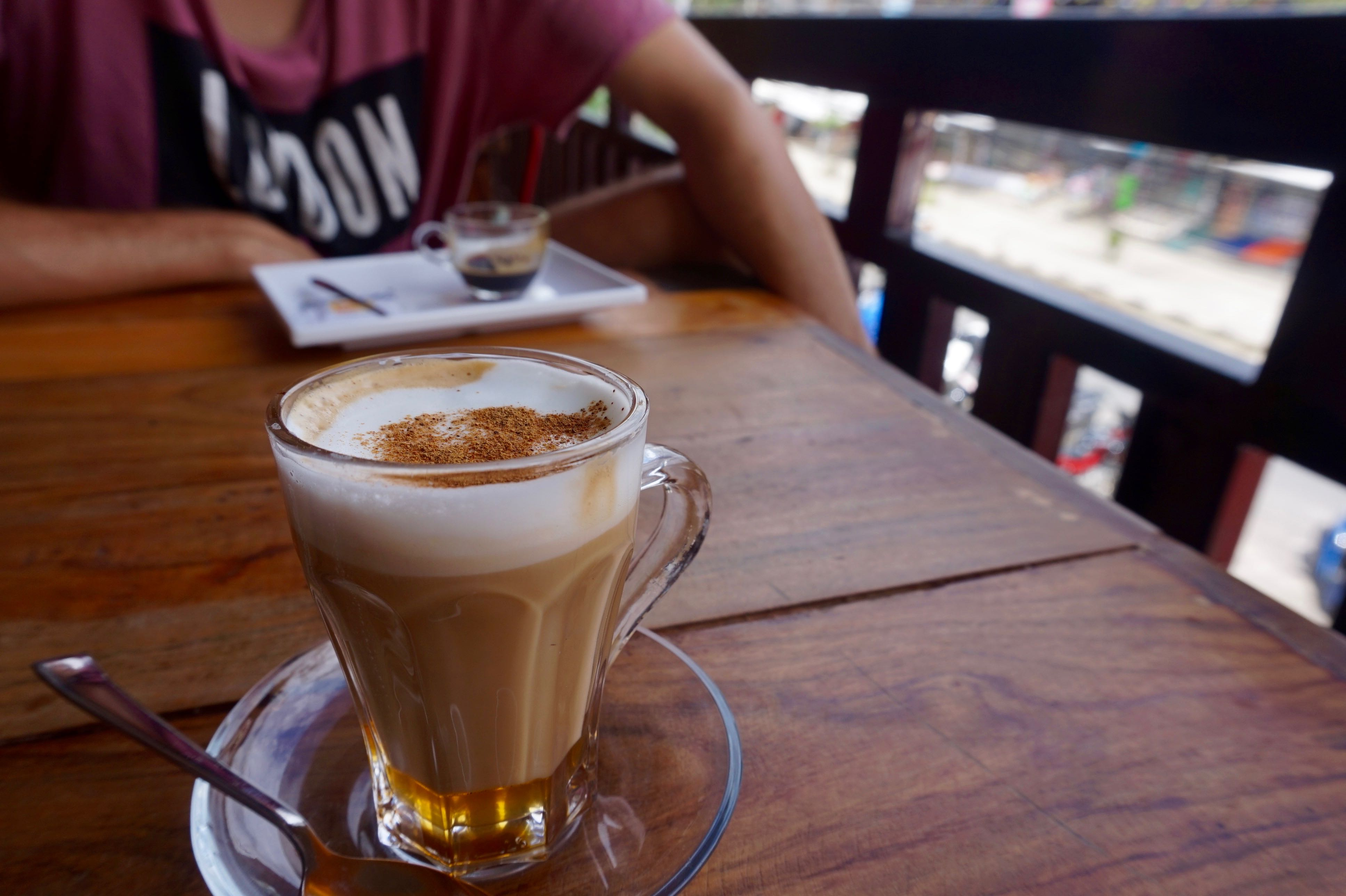 Coffee from White Rabbit Cafe