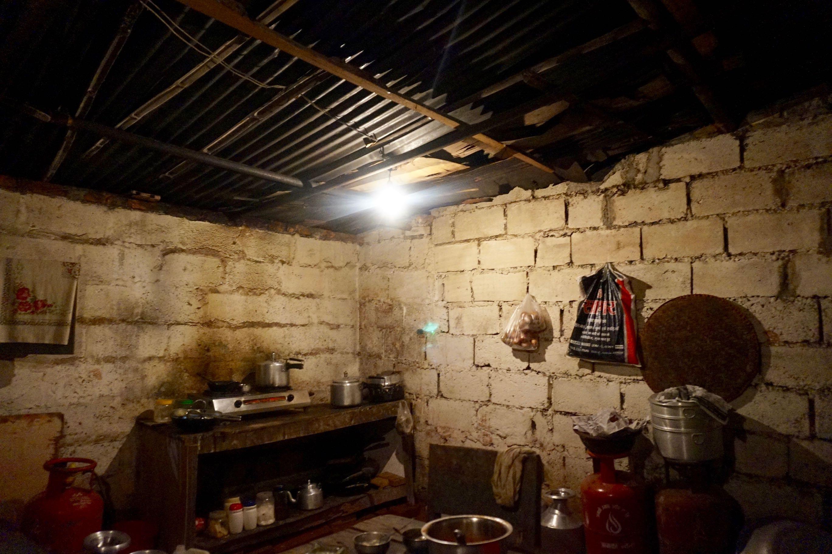 Inside Krishna's Home and Restaurant
