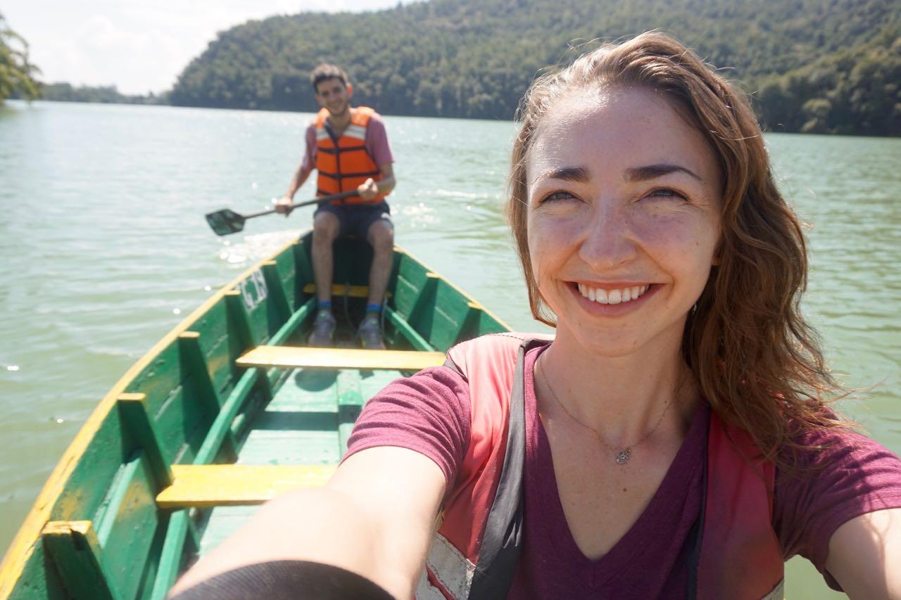 On Fewa Lake